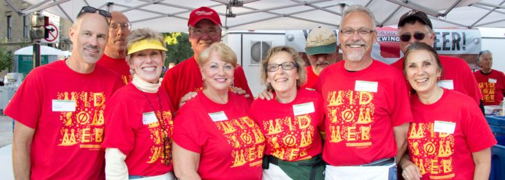 WCO COS Beverage Booth Volunteers